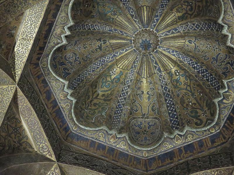 Coupole en mosaiques de la Mezquita