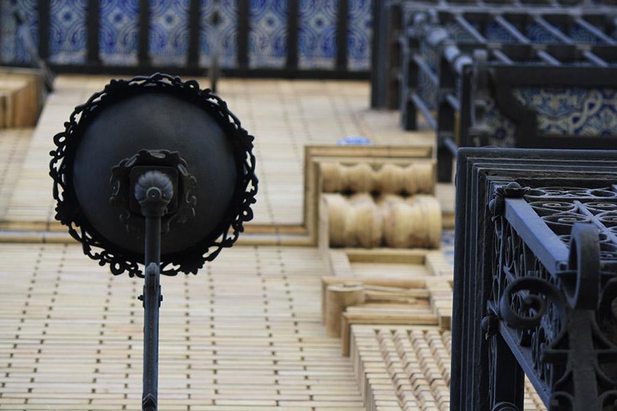 Balcons et azulejos de Seville