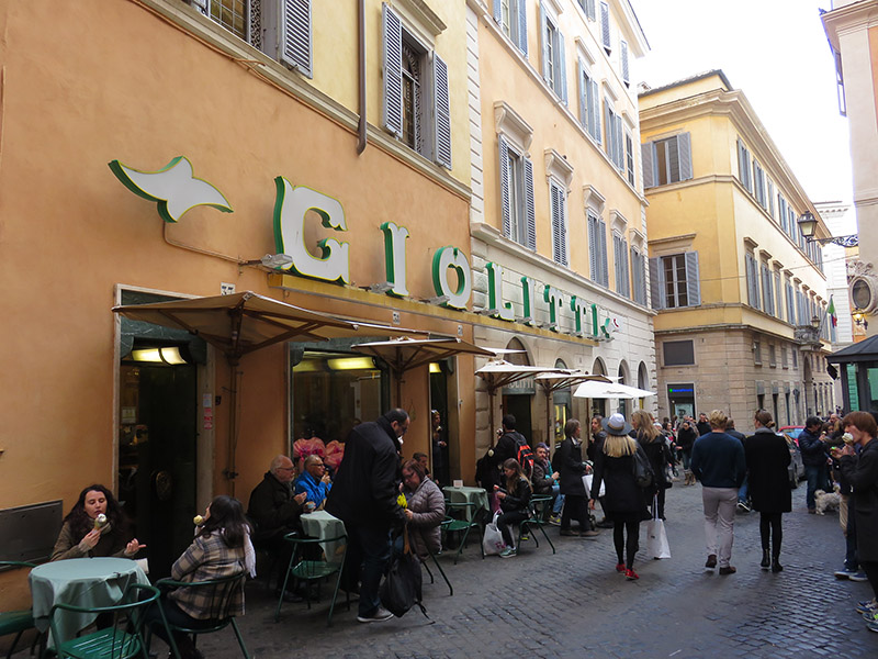 Giolitti, meilleur glacier de Rome
