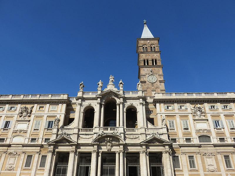 Sainte Marie Majeure de Rome, style architectural