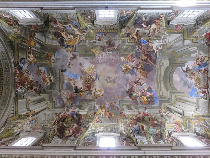 Trompe l'oeil de Pozzo à Sant'Ignazio Loyola