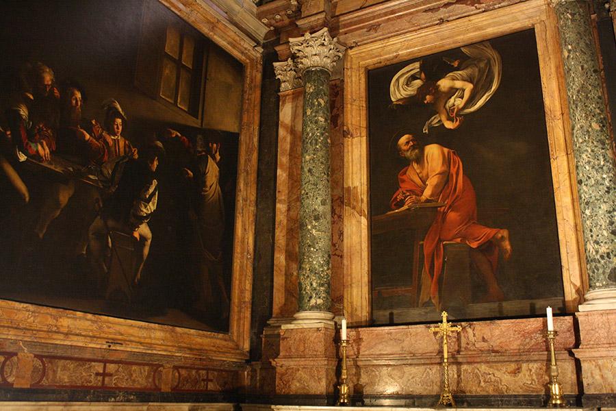 Le Caravage à Rome