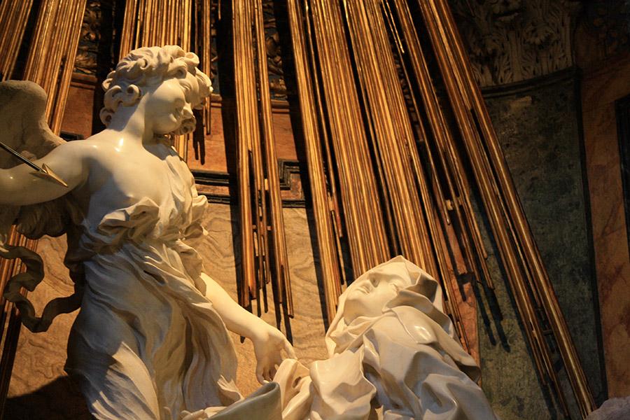 Le Bernin, Bernini, Extase de Sainte Thérèse