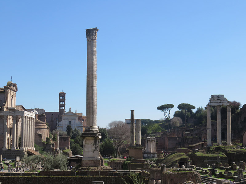 Vestiges des forums de Rome