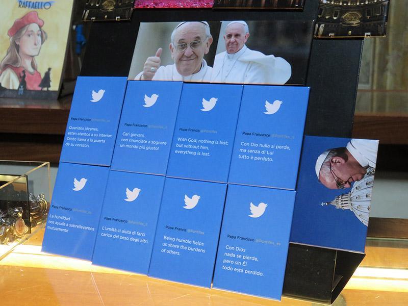 Tweet du Pape François