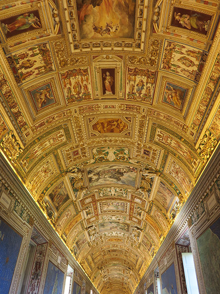 Salle des Cartes du musée du Vatican