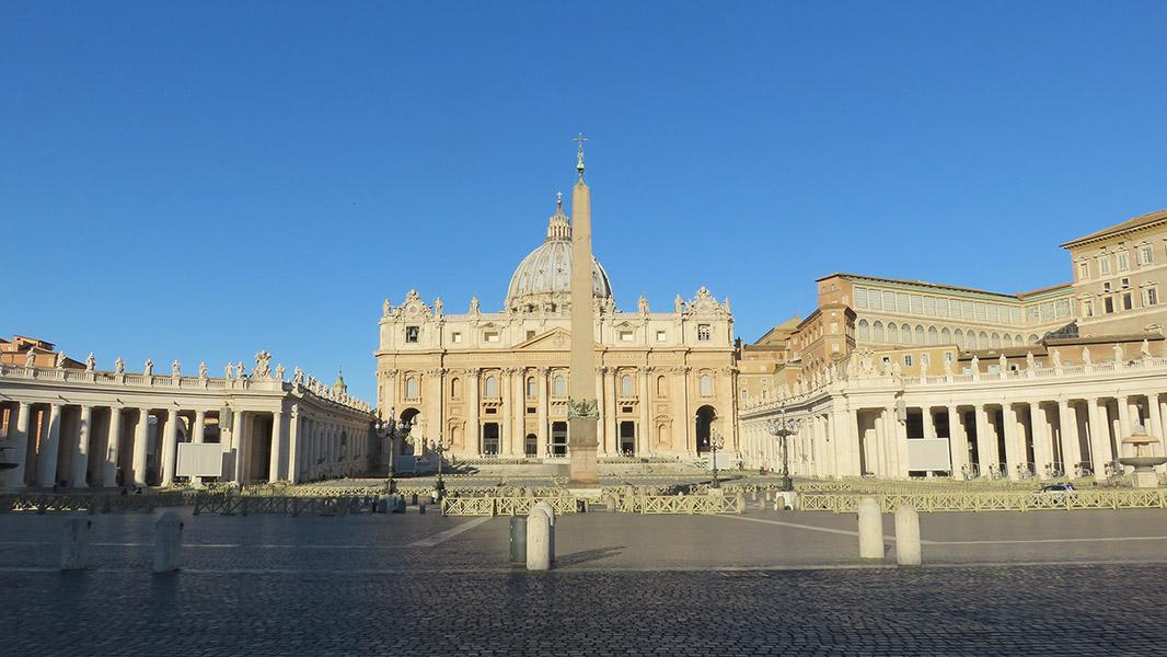 Place St Pierre de Rome