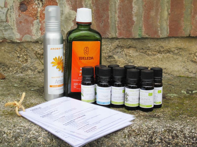 Kit d'huiles essentielles de voyage