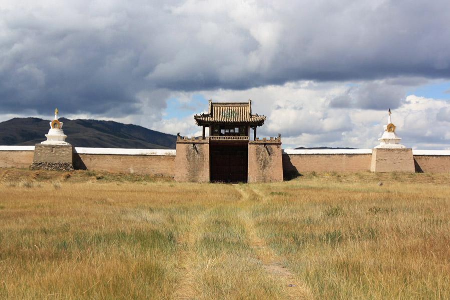 mongolie erdene zuu temple monastere