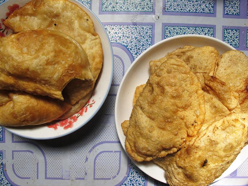 cuisine mongole khuushuurs