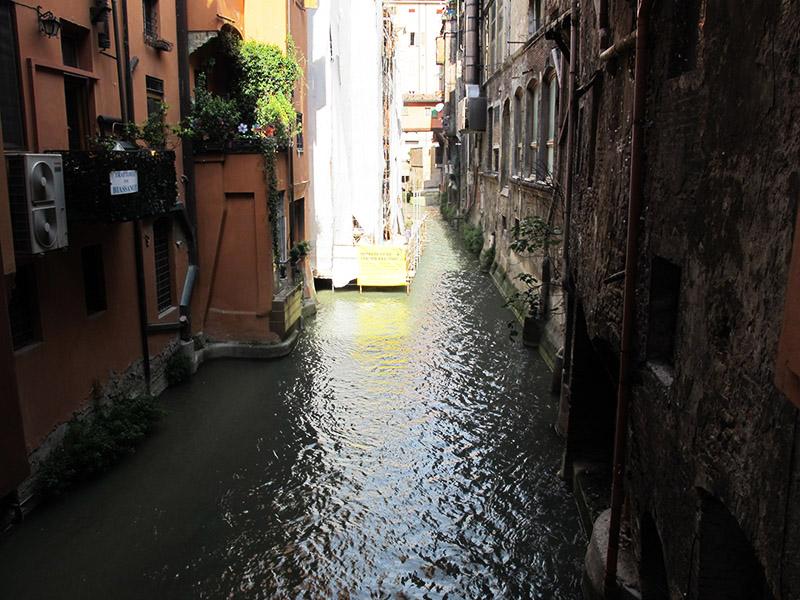 Canal de Bologne à la Venise
