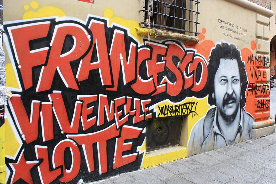 Street-art à Bologne