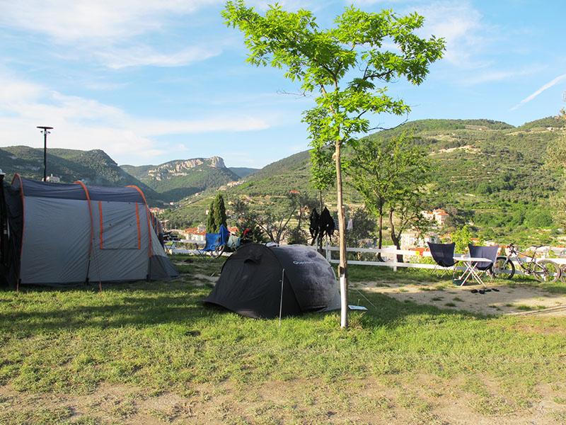 Camping en Italie