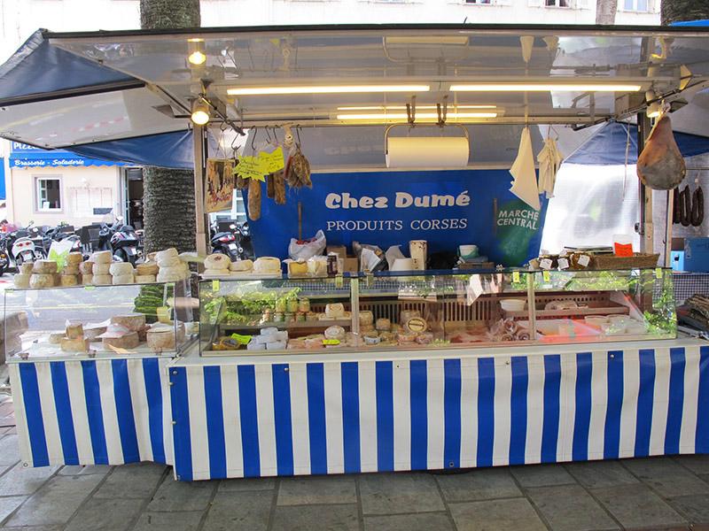 Marché Dumé Corse