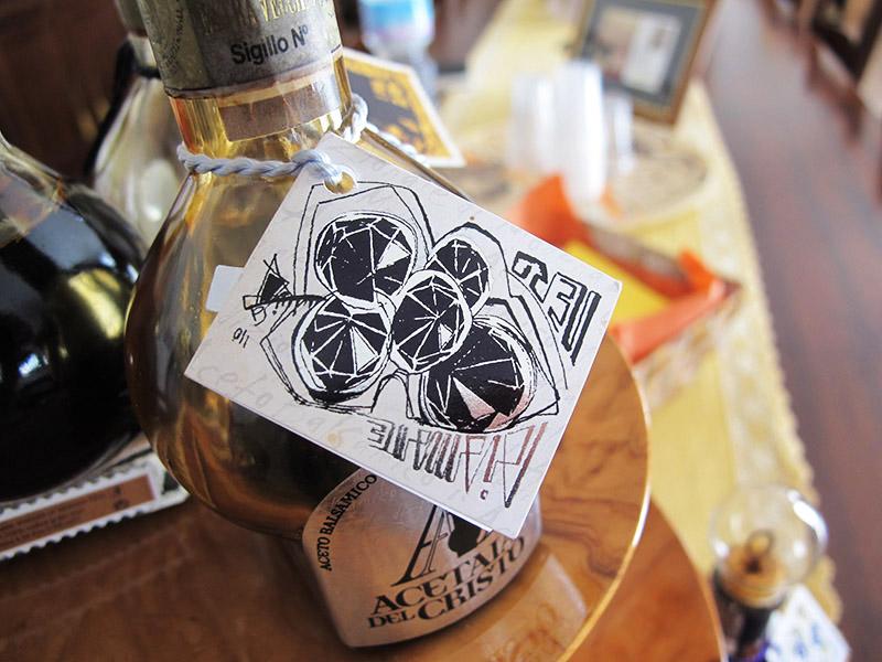 Vinaigre balsamique de Modène, acetaia del cristo