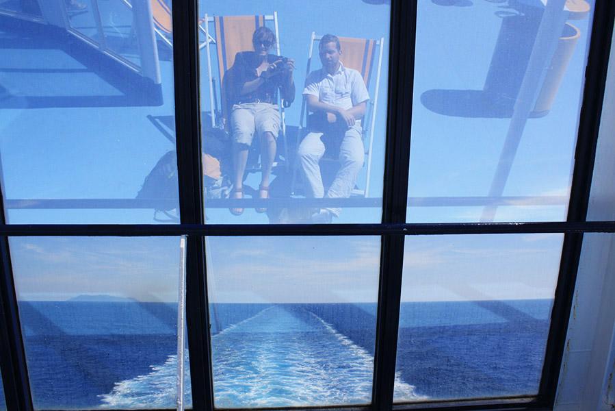 Vadrouille et tambouille en ferry