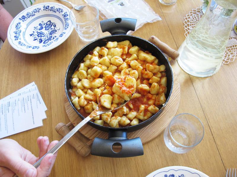 gnocchis sauce tomate