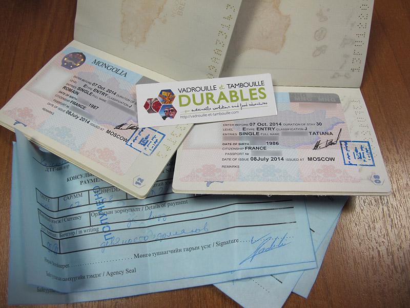 Visa Mongolie depuis Russie (Moscou)