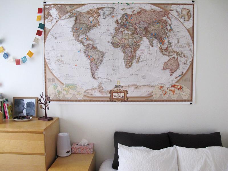 Décider de partir en tour du monde