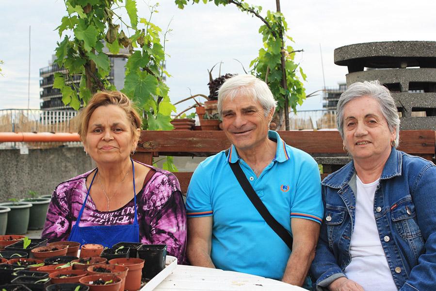 Membres de Biodivercity à Bologne