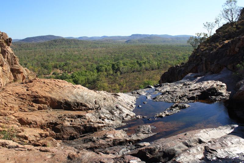 Kakadu, cascade et point de vue