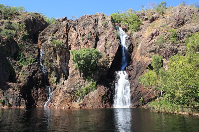 Australie, Litchfield Florence Falls baignade