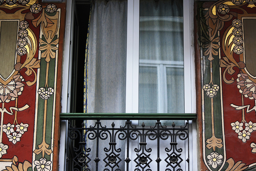 Façades Art Nouveau, Horta