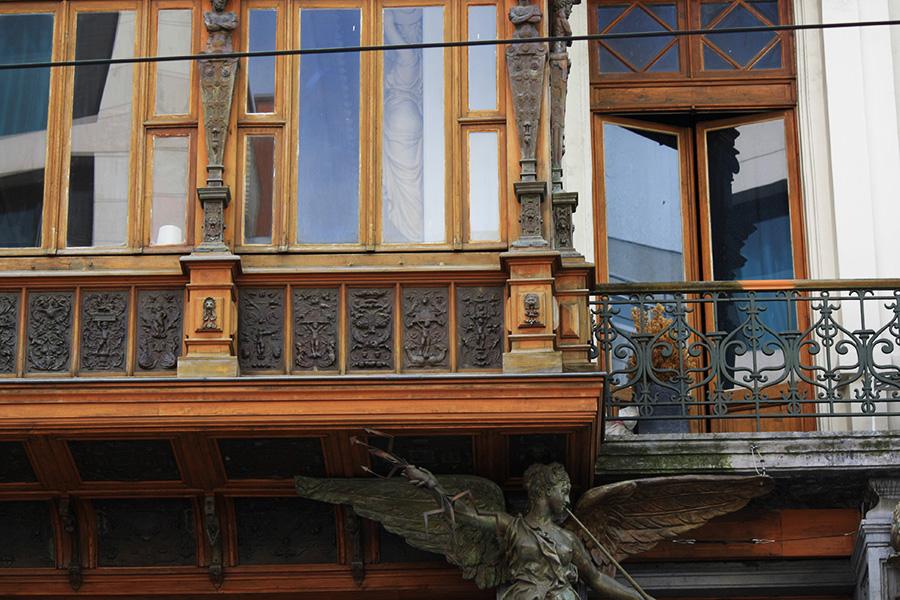 Bruxelles, ville Art Nouveau, Horta
