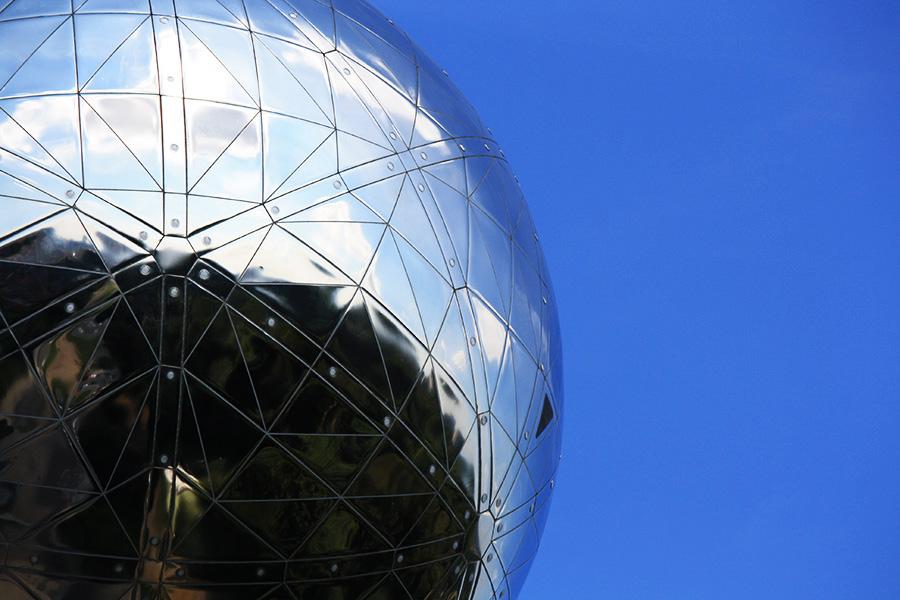 Atomium en détail