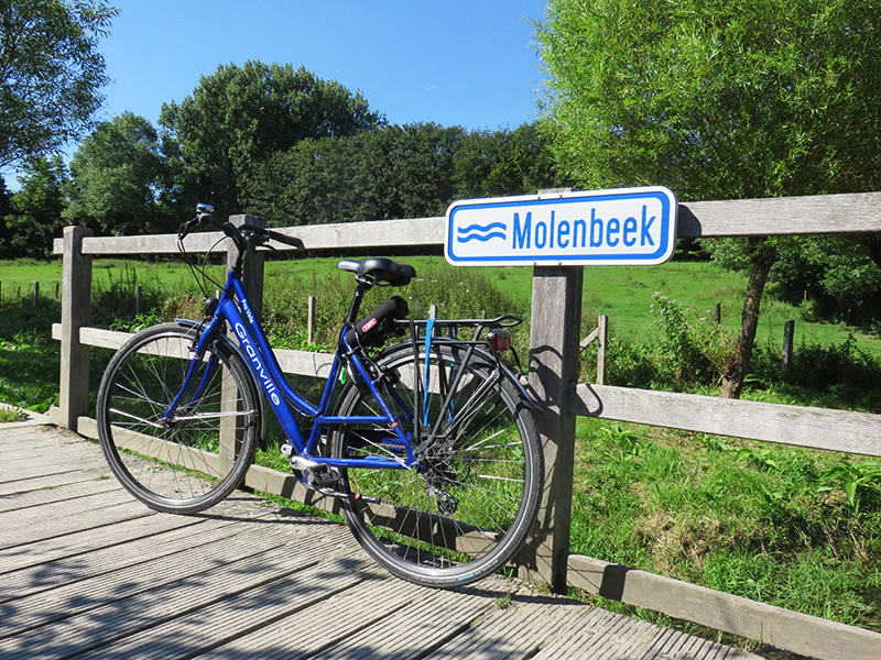 Balade à vélo proche de Molenbeek