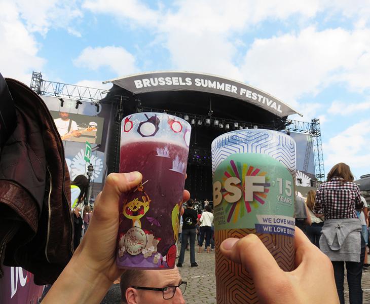 Bière au Brussels Summer Festival 2016