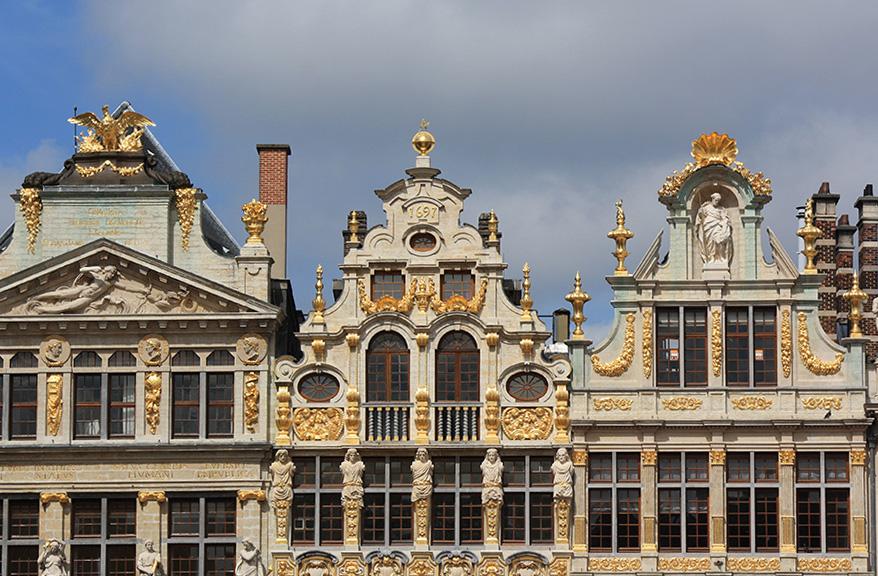 Façades de la Grand-Place de Bruxelles