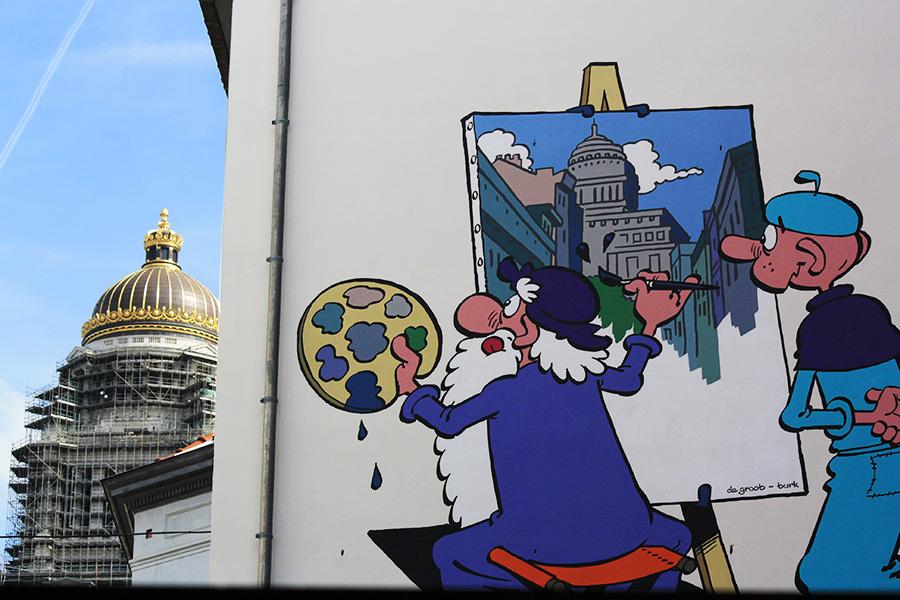 Façade BD Léonard à Bruxelles