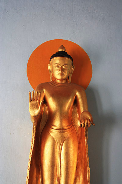 Bouddha, bagan, birmanie
