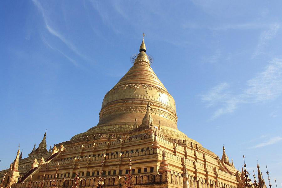 stupa de birmanie