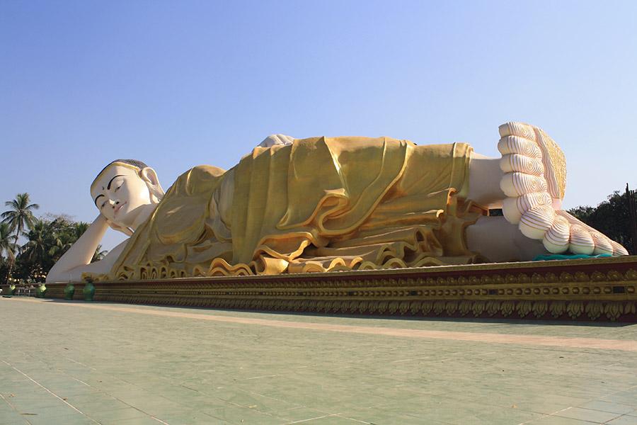 temple de bago, birmanie