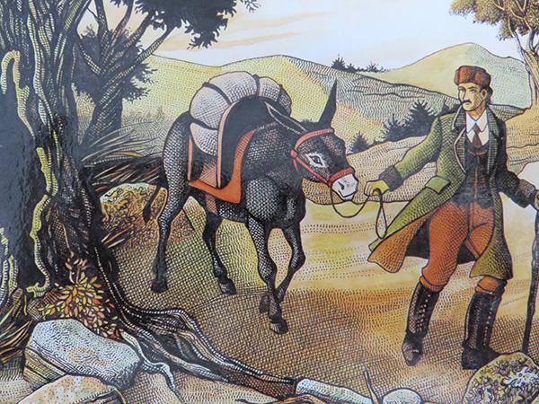 Robert Louis Stevenson, traversée des Cévennes