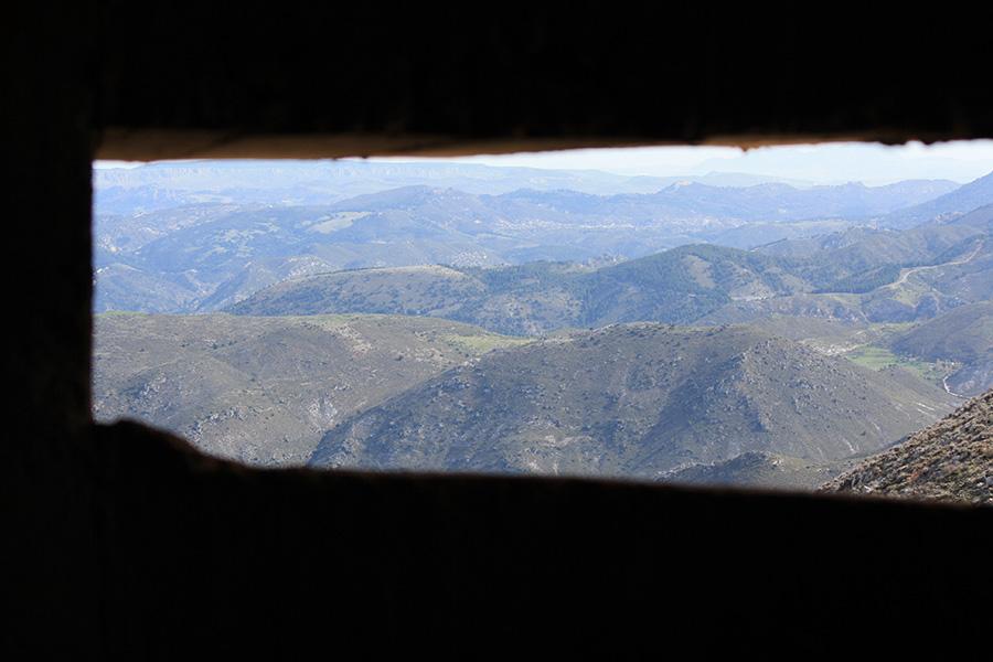 Intérieur d'un bunker espagnol sous Franco