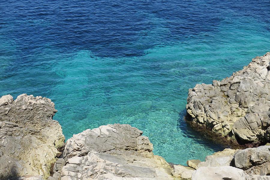 Mer turquoise de Croatie