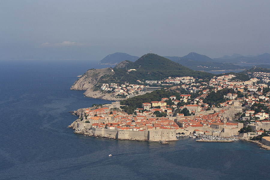 Forteresse de Dubrovnik à la Game of Thrones