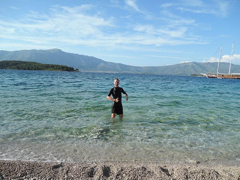 Mer de Croatie, Korcula