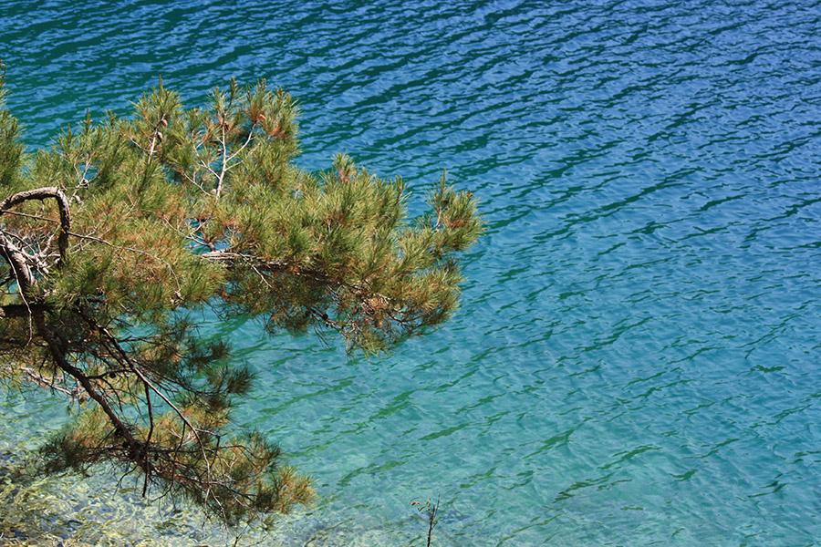 Lacs de l'île Mljet, Veliko Jezero