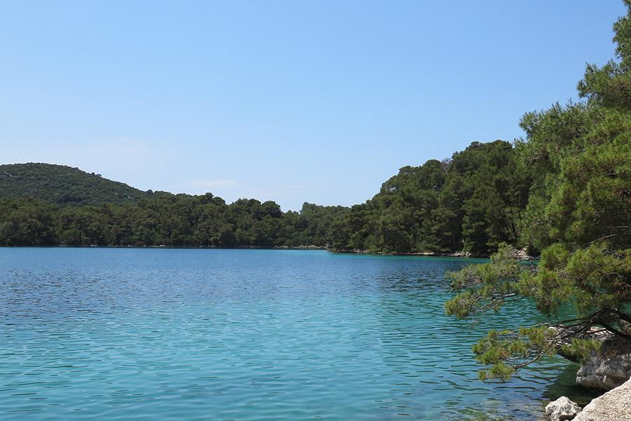 Lacs de l'île Mljet, Malo Jezero