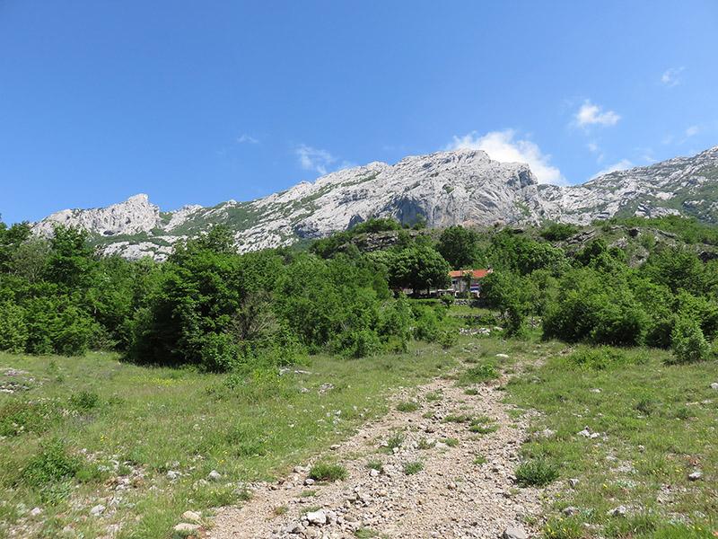 Parc et falaises de Paklenica
