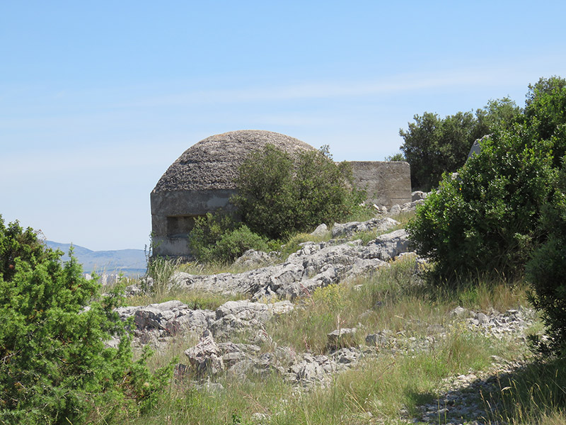 Bunker yougoslave de Sibenik