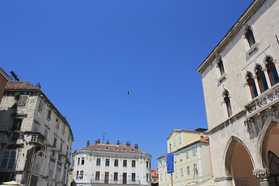 Palais Dioclemetien de Split en Croatie