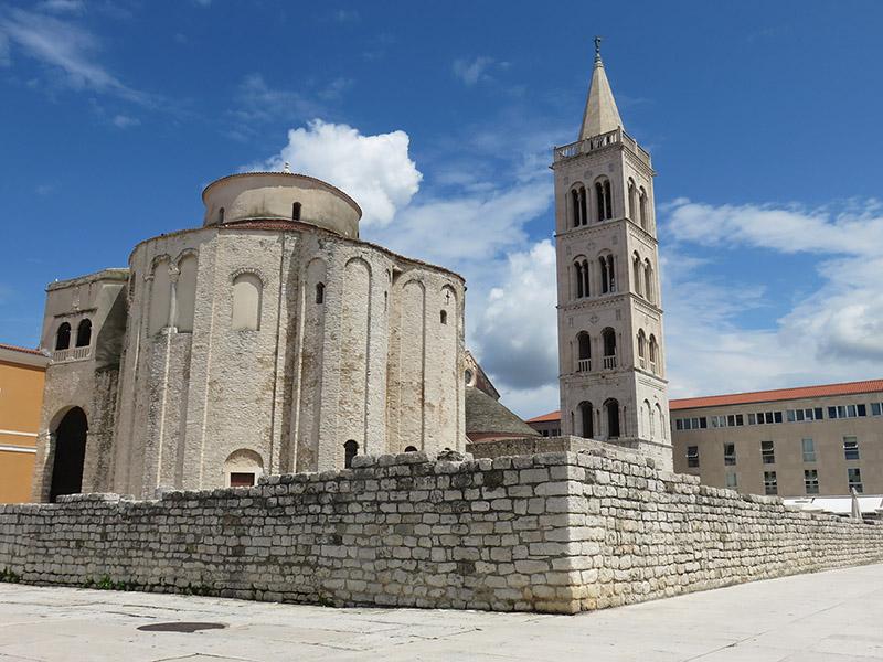 Eglise Saint Donat à Zadar