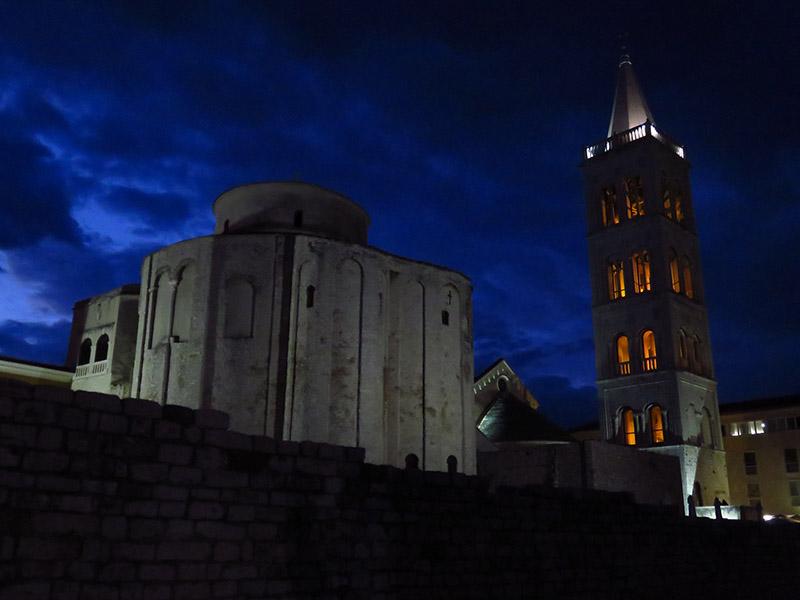 Zadar de nuit