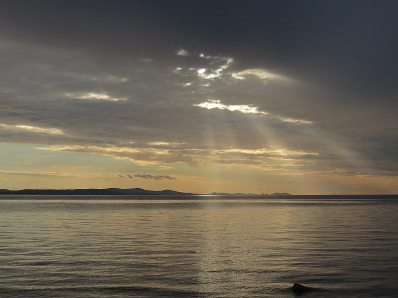 Zadar coucher de soleil