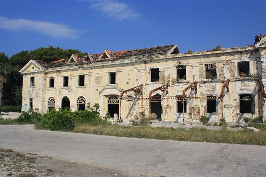 Hôtels abandonnés de Kupari, Croatie